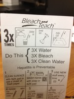 Bleach & Teach Card