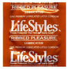 LifeStyles Pleasure Ribbed Condom