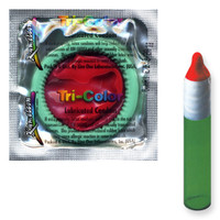 Kamelon Tri-Color Condom Assortment