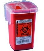 Sharps Container 1 Quart Red 100ct
