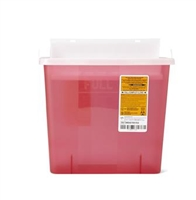 Sharps Container 5Q 20ct