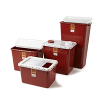 Sharps Container 8 Gallon 10ct