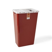 Sharps Container 18 Gallon 5ct