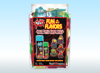 WET Fun Flavors Lubricant 10 ml Foil Pouch 144ct