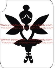 Cute Fairy Pixie Stencil