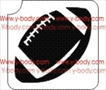 Football Glitter tattoo stencil, Temporary tattoos, Henna Tattoos, Airbrush Tattoo Stencil,