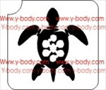 turtle glitter tattoo stencil