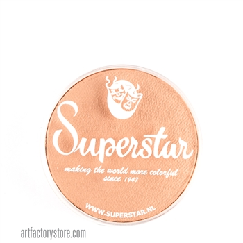 Superstar sun tan complexion, a great skin tone color in a 16 gr jar for face and body painting