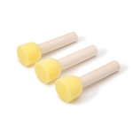 3 Pack - Large Sponge Daubers with Wooden stick