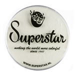 Superstar Skull white in a 45 gr jar for face and body painting