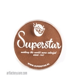 Superstar pecan brown, a great skin tone color in a 16 gr jar for face and body painting