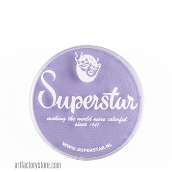 Superstar pastel lilac, great light purple color for your fairy, unicorn or princess designs in a 16 gr jar for face and body painting