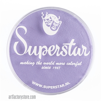 Superstar pastel lilac, great light purple color for your fairy, unicorn or princess designs in a 45 gr jar for face and body painting