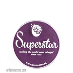 Superstar purple, perfect deep purple base for butterfly designs in a 16 gr jar for face and body painting
