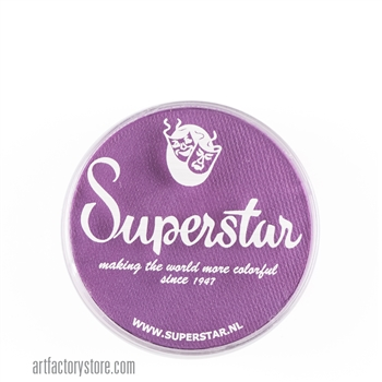 Superstar light purple, soft purple color for flowers, butterflies and fairy designs in a 16 gr jar for face and body painting