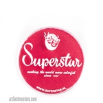 Superstar cerise red, fruity shade of red with a hint of watermelon in a 16 gr jar for face and body painting