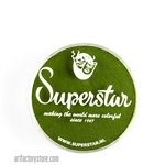 Superstar grass green, earthy undertone for leaves and vines in a 16 gr jar for face and body painting