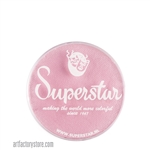 Superstar baby pink shimmer is a soft pale pink in 16 gr jar for face and body painting