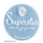 Superstar baby blue is a soft pale blue in a 45 gr jar for face and body painting