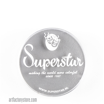 Superstar light grey, adds depth to your skull designs.  16 gr jar for face and body painting