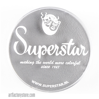 Superstar light grey, adds depth to your skull designs.  45 gr jar for face and body painting