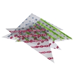 henna triangle cellophane applicator for rolling cones