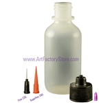 Luer Lock Bottle, glitter tattoo applicator, Glitter Tattoos applicator, Locking bottle and tip