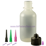 Luer Lock Bottle, Henna applicator, Glitter Tattoos applicator, Locking bottle and tip
