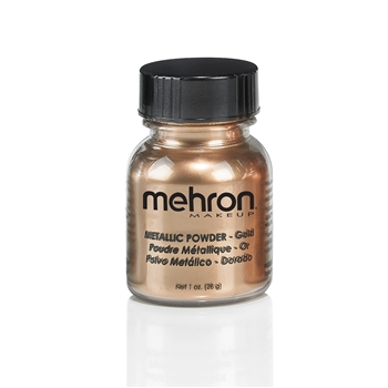 Metallic paint, face paint, mixing liquid, metallic powder, mehron, bronze, silver, gold, copper, metallic face paint, bronze face paint, silver face paint, gold face paint, copper face paint