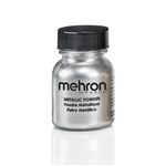 Metallic Silver Powder for face paint and body art
