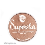 Superstar nut brown shimmer is a nutty brown with subtle shimmer in 16 gr jar for face and body painting