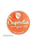 Superstar tiger shimmer is a bright shimmery orange in 16 gr jar for face and body painting
