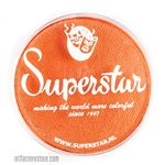 Superstar tiger shimmer is a bright shimmery orange in a 45 gr jar for face and body painting