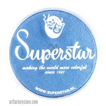 Superstar mystic blue shimmer is a rich medium blue in a 45 gr jar for face and body painting