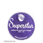 Superstar lavender shimmer is a rich deep shade of purple with subtle shimmer in 16 gr jar for face and body painting