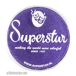 Superstar lavender shimmer is a rich deep shade of purple with subtle shimmer in a 45 gr jar for face and body painting