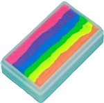 Tag Neon Rainbow 6 one stroke split cake