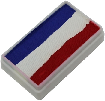 Tag Tag Red White and Blue one stroke split cake