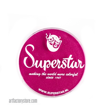 Superstar majestic magenta is a deep and rich shade of pink in 16 gr jar for face and body painting