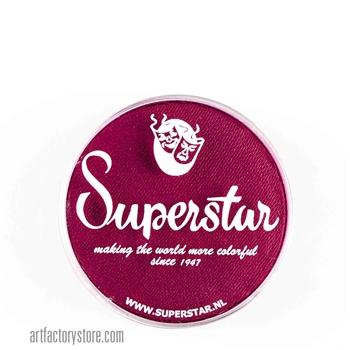 Superstar berry wine is a delicious combination of red and purple in 16 gr jar for face and body painting
