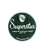 Superstar dark green in 16 gr jar for face and body painting