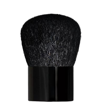 Large Black Kabuki Brush