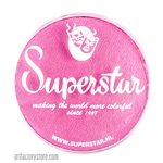 Superstar cotton candy shimmer is a playful light pink with subtle shimmer in a 45 gr jar for face and body painting