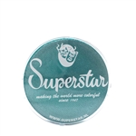 Superstar Green Shimmer shimmer  in a 45 gr jar for face and body painting