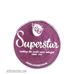 Superstar berry shimmer is a deep rich wine color with purple and red undertones and subtle shimmer in 16 gr jar for face and body painting