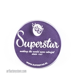 Superstar imperial purple is a dark, rich grape like purple in 16 gr jar for face and body painting