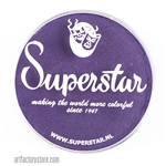 Superstar imperial purple is a dark, rich grape like purple in a 45 gr jar for face and body painting