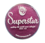 Superstar Star magenta shimmer in a 45 gr jar for face and body painting