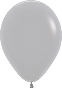 "11"" Deluxe Grey Balloon"