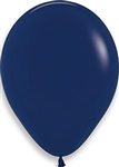 "11"" Fashion Navy Blue Balloon"